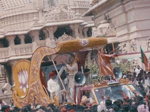 LK Advani's yatra 2011