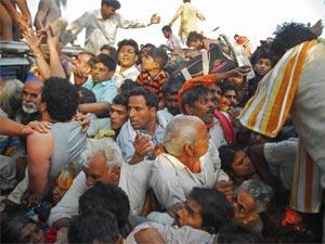 Stampede in Haridwar