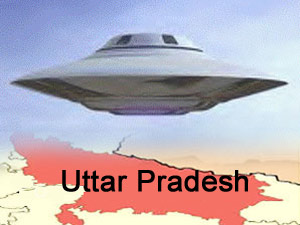 Spaceship on Uttar Pradesh
