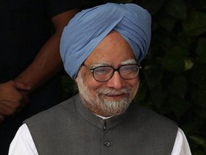 PM Manmohan Singh leaves for home