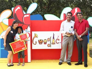 Doodle 4 Google winner Varsha Gupta