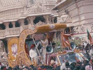 LK Advani's rath yatra