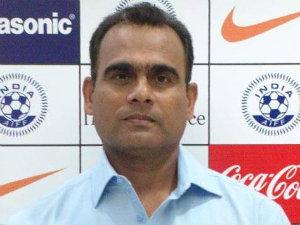 Indian football coach Savio Medeira