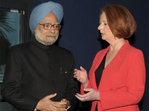 Julia Gillard-Manmohan Singh