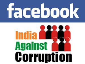 Facebook-India Against Corruption