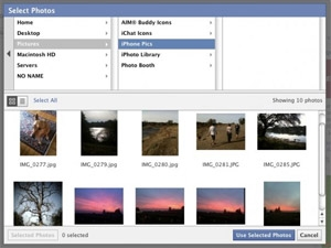 Facebook updates photos uploader