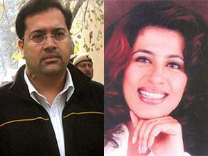 Manu Sharma and Jessica Lal