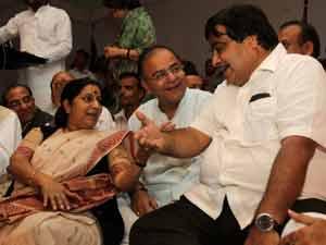 Arun Jaitley, Sushma Swaraj,Nitin Gadkari