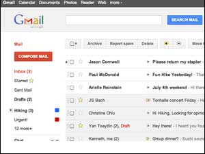 New Look Gmail