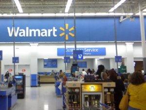 Walmart store in Ind