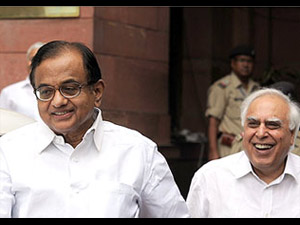 P Chidambaram-Kapil Sibal