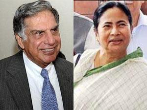 Ratan Tata and Mamata Banerjee