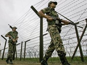Guards manning LoC