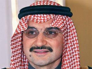 Saudi Prince, Alwaleed Bin