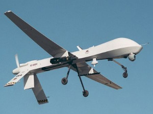 US armed drone