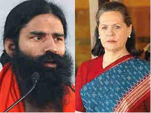 Baba Ramdev-Sonia Gandhi