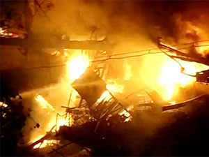 Fire In West Bengal
