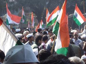 Anna Hazare protest