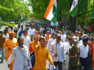 Anna Hazare folowers