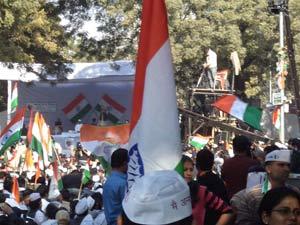Anna Hazare portest