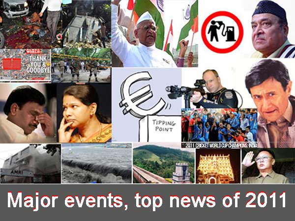 Major events, top news of 2011