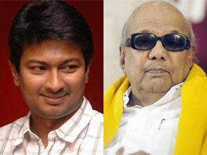 Udayanidhi Stalin and Karunanidhi