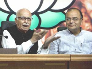 LK Advani and Arun Jaitley
