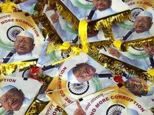 Anna Hazare's Kites