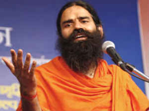 Baba Ramdev | Heckled | Press conference | New Delhi | Acid