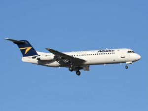 Alliance Air flight