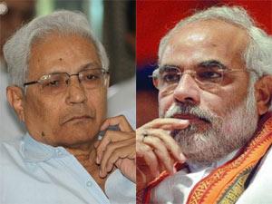 RA Mehta and Narendra Modi