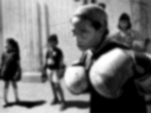 Children particiapting in Boxing