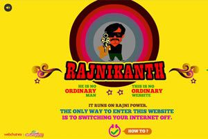 All about Rajinikanth website