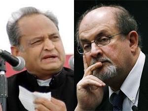 Gehlot-Salman Rushdie