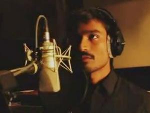 Dhanush sings Kolaveri Di