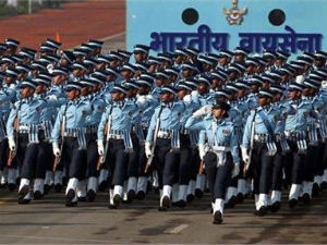 Indian Air Forces parade. PTI