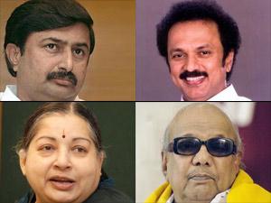 Vellakovil Swaminathan, MK Stalin, Jayalalithaa and Karunanidhi