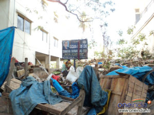 BBMP wiped out hawkers shop in Gandhi Bazaar