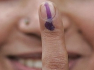 Voting fingure