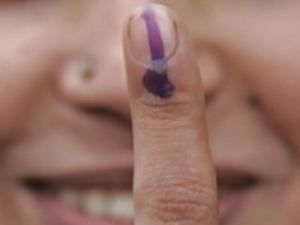 Vote fingure