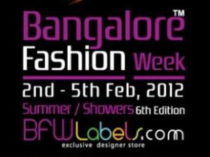 Bangalore Fashion Week poster