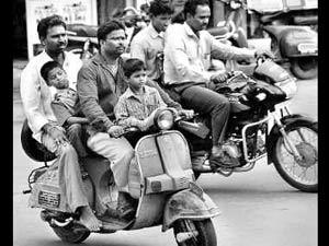 Bike Riders Without Helmet