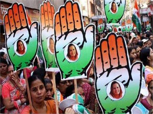 Congress workers rally