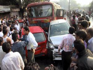 Pune accident