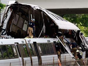 Metro accident