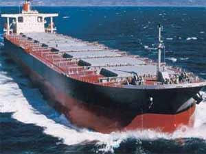 Ship in sea