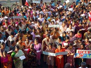Koodankulam Nuclear Plant protest