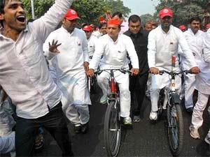 Samajwadi Party leader Akhilesh Yadav