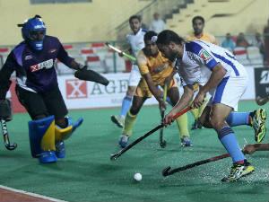 Karnataka won their first game after three losses