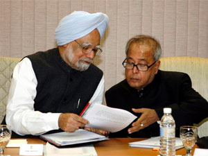 Manmohan Singh-Pranab Mukherjee
